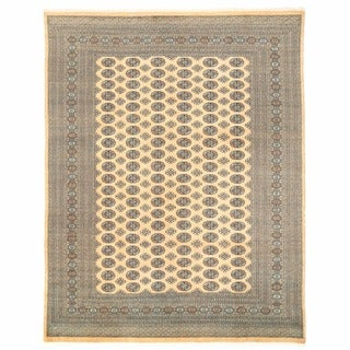 Herat Oriental Pakistani Hand-knotted Bokhara Wool Rug (8'11 x 11'7)