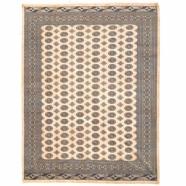Herat Oriental Pakistani Hand-knotted Bokhara Wool Rug - 9' x 12'