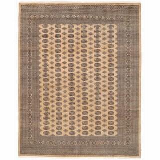 Handmade Herat Oriental Pakistani Bokhara Wool Rug - 9'2 x 11'10 (Pakistan)