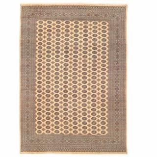 Herat Oriental Pakistani Hand-knotted Bokhara Wool Rug (9'11 x 14'1)