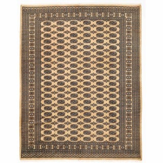 Herat Oriental Pakistani Hand-knotted Bokhara Wool Rug (7'10 x 10'3)