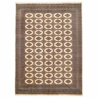 Herat Oriental Pakistani Hand-knotted Bokhara Wool Rug (8'2 x 11'4)