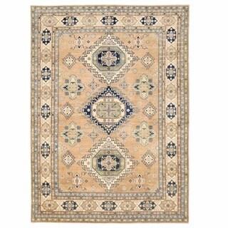 Handmade Herat Oriental Afghan Oushak Wool Rug - 9'9 x 13'6 (Afghanistan)