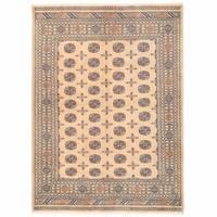 Herat Oriental Pakistani Hand-knotted Bokhara Wool Rug (6'2 x 8'6) - 6'2 x 8'6