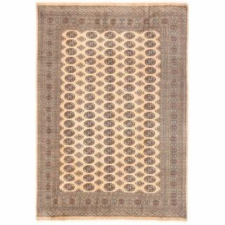 Herat Oriental Pakistani Hand-knotted Bokhara Wool Rug (7' x 10'4)