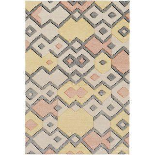 Hand Woven Octavia Wool/Cotton Area Rug (5 x 76 - Orange)