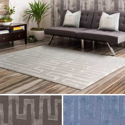 Carson Carrington Marsta Hand Tufted Wool/Viscose Area Rug