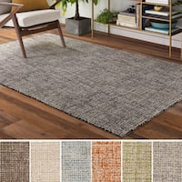 Carson Carrington Brejning Wool Handmade Area Rug - 8' x 10'