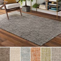 Palm Canyon Marino Wool Handmade Area Rug - 8' x 10'