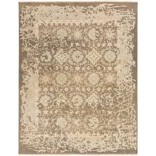 Hand Knotted Pan Wool/Cotton Rug (6' x 9')