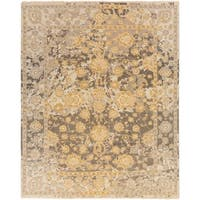 Hand Knotted Parkmoor Wool/Cotton Area Rug (6' x 9')