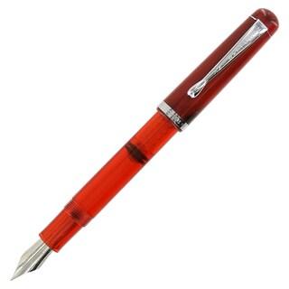 Noodler's Ink Konrad Flex-nib Cardinal Darkness Piston Fill Pen