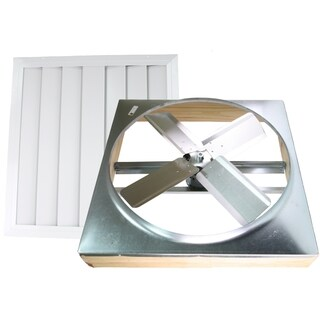 24-inch Direct Drive Whole House Fan