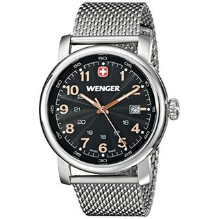 Wenger Men's Stainless Steel Urban Classic Date Watch