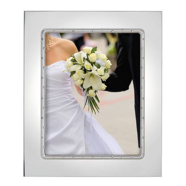Shop Devotion Silver-plated 8x10 Frame - Free Shipping On Orders ...