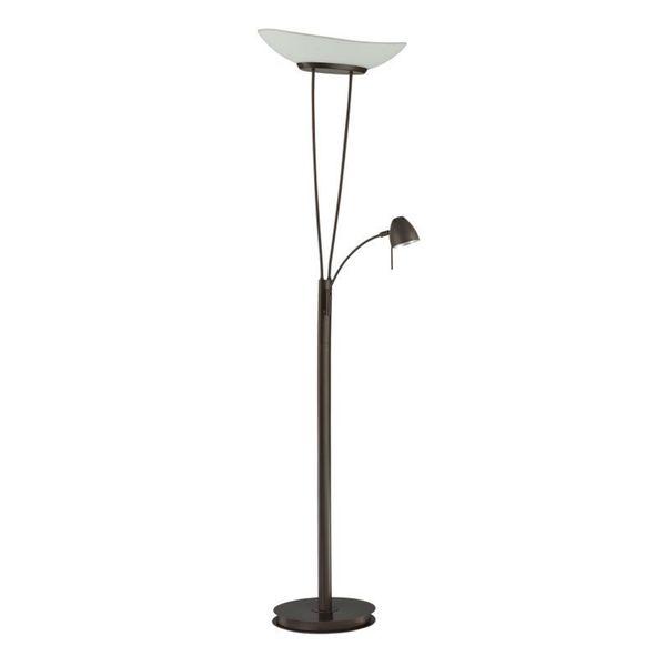 emma 2 light 72 inch oil rubbed bronze floor lamp free shipping. Black Bedroom Furniture Sets. Home Design Ideas