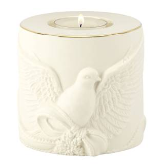 Radiant Light Dove Votive