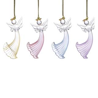 Pastel Angels Ornaments (Set of 4)