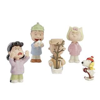 Lenox Charlie Brown's 'That's What Christmas Is All About' Gold/White Porcelain Figurine