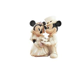 Disney Show Minnie's Dream Wedding Figurine