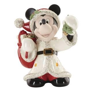 Lenox Porcelain Merry Mickey Lit Figurine