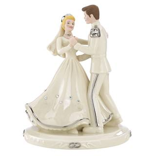 Cinderella and Prince Charming Love Cake Topper