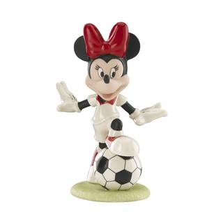 Soccer Star Minnie Figurine