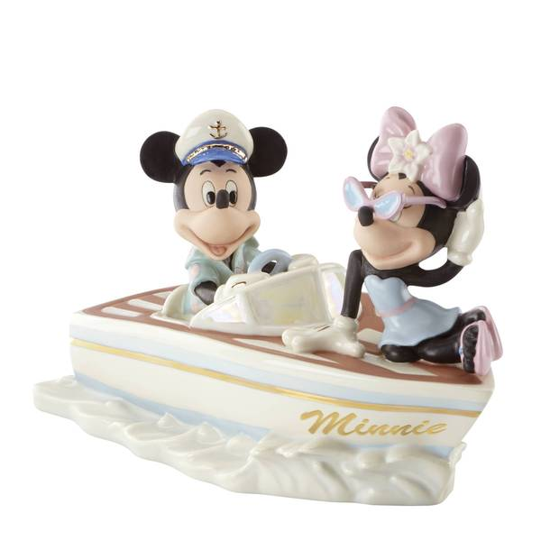 Cruising The Waves W/Minnie Figurine