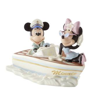 Cruising The Waves W/Minnie Figurine