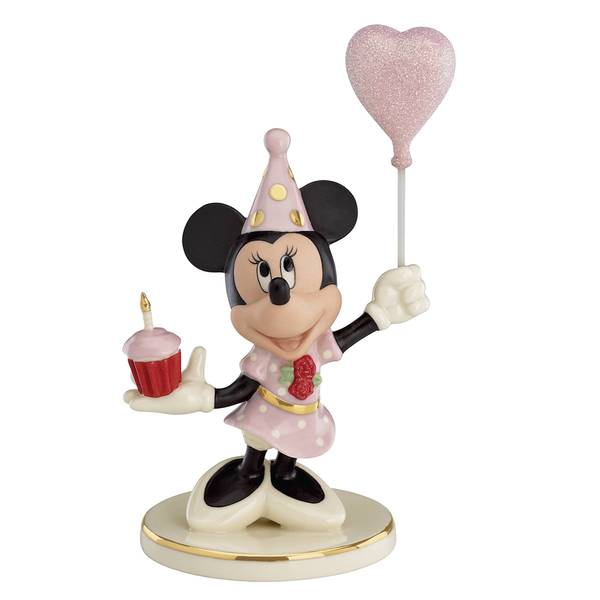 Lenox Porcelain Birthday Cheer From Minnie Figurine