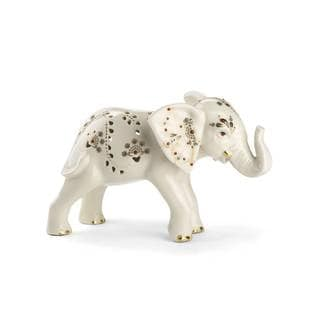 Jewels Of Light Elephant Figurine
