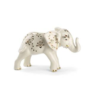 Jewels Of Light Elephant Figurine