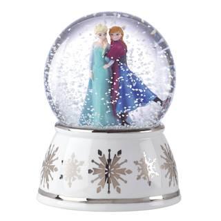 Elsa and Anna Snow globe Musical Figurine