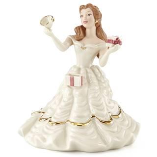 Belles Birthday Surprise Figurine