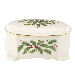 Holiday Archive Musical Trinket Box