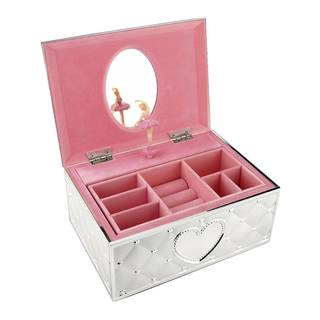 Childhood Memories Ballerina Jewelry Box