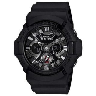 Casio Men's GA201-1A G-Shock Black Acrylic/Rubber Watch