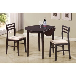 LYKE Home Marcellus Cappuccino 3-piece Dining Set