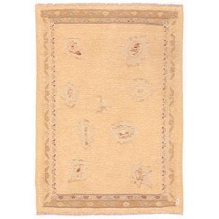 Herat Oriental Afghan Hand-woven Mimana Wool Kilim (3'3 x 4'7)