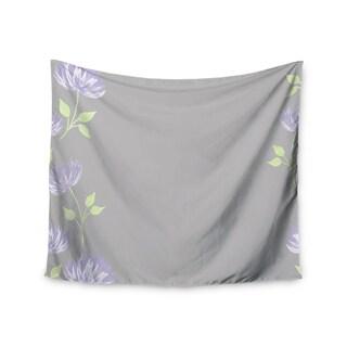 Kess InHouse Louise 'Flower II' 51x60-inch Wall Tapestry