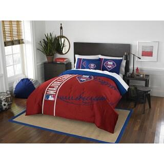 The Northwest Company MLB Philadelphia Phillies Full 3-piece Comforter Set