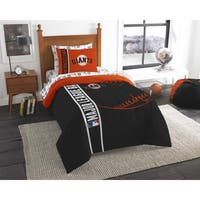 The Northwest Company MLB San Francisco Giants Twin 5-piece Bed in a Bag with Sheet Set
