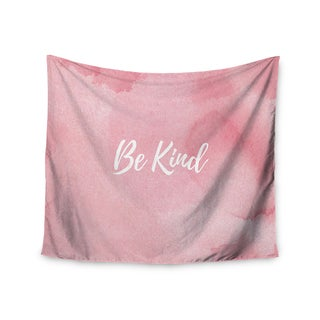 Kess InHouse KESS Original 'Be Kind' 51x60-inch Wall Tapestry