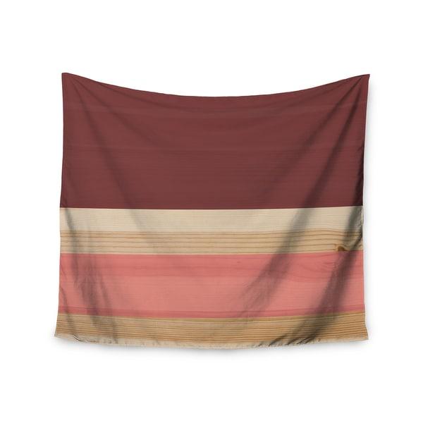 Kess InHouse KESS InHouse 'Spring Swatch - Marsala Strawberry' 51x60-inch Wall Tapestry