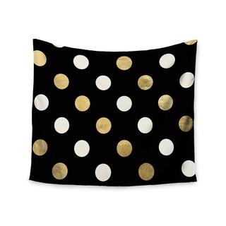 Kess InHouse KESS InHouse 'Golden Dots' 51x60-inch Wall Tapestry