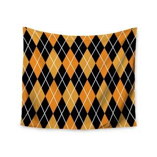 Kess InHouse KESS Original 'Argyle - Night' 51x60-inch Wall Tapestry