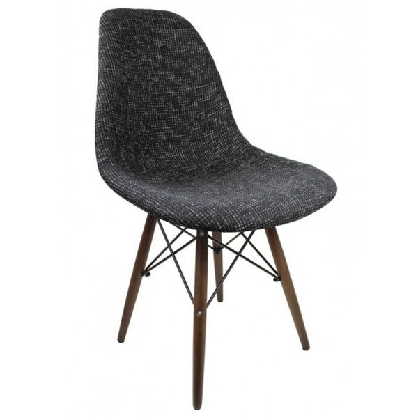 Molded Plastic Dining Chairs contemporary retro molded style woven fabric slope side plastic