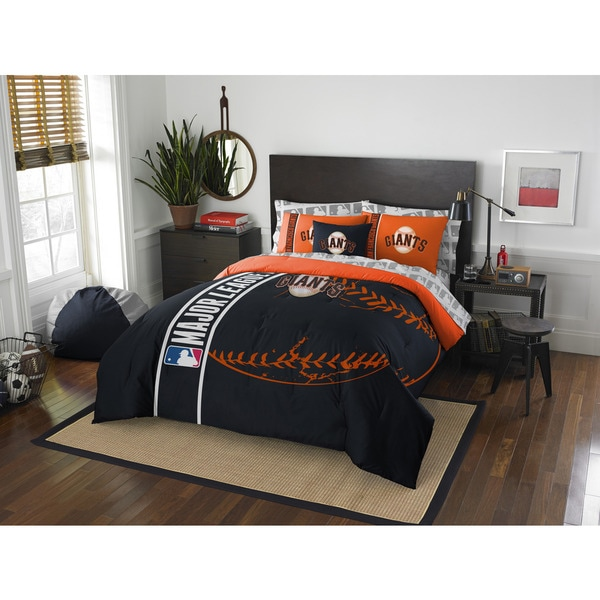 The Northwest Company MLB San Francisco Giants Full 7-piece Bed in a Bag with Sheet Set