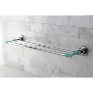 Polished Chrome 24-inch Double Towel Bar