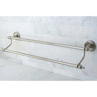 Polished Nickel 24-inch Double Towel Bar
